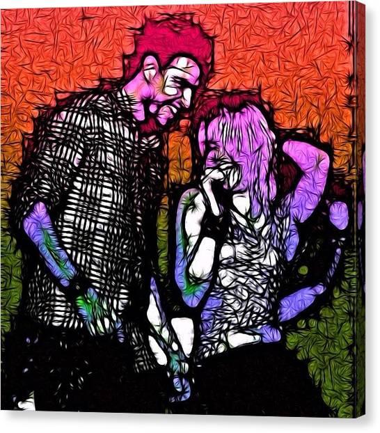 Shakira Canvas Print - Shakira by Fros Deen