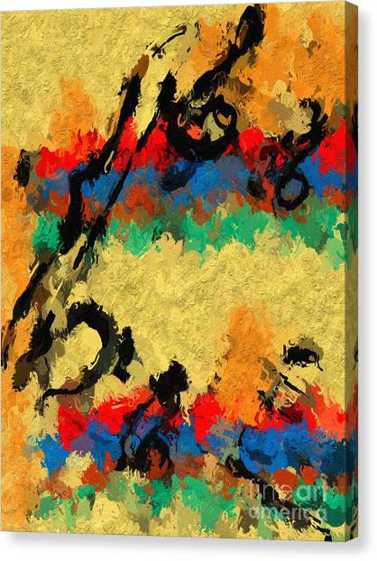Shaky Start Canvas Print