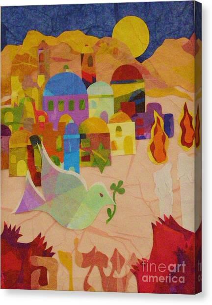 Shalom  Canvas Print