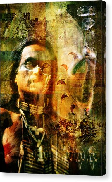 Canvas Print - Shaman. by Mark Preston