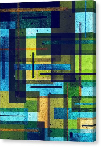 Tetris Canvas Print - Shape Shift by Shawna Rowe