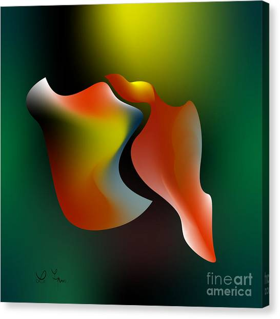 Shapes 1 Canvas Print