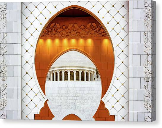 Mosques Canvas Print - Shapes by Wayne Pearson