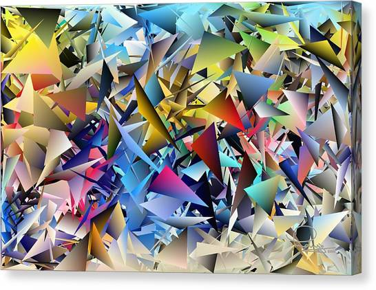 Shards 2 Canvas Print