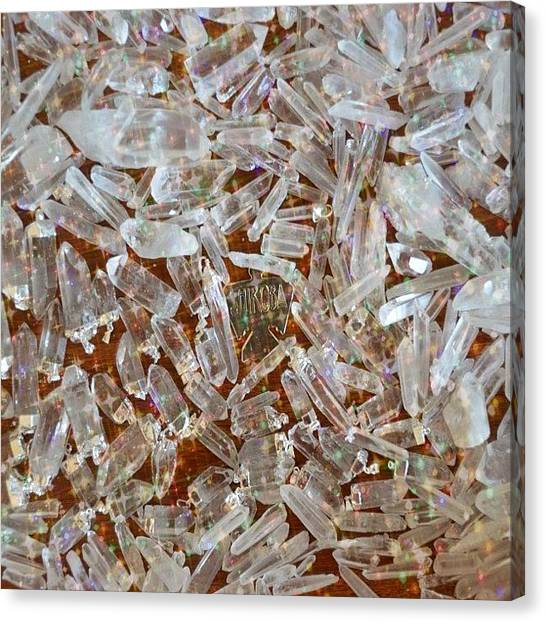 Gemstones Canvas Print - Sharing The Best In Metaphysical by Shikoba Photography