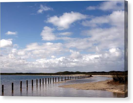 Canvas Print featuring the photograph Shark Bay Western Australia by David Rich
