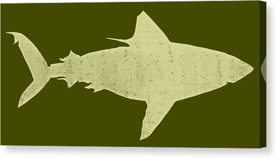 Shark Canvas Print - Shark by Michelle Calkins