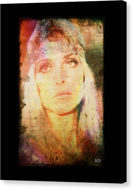 Sharon Tate - Angel Lost Canvas Print