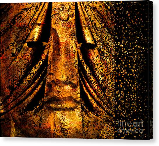 Shattering The Illusion Of Eternity  Canvas Print