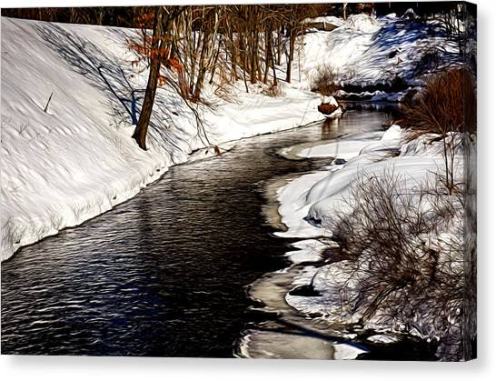 Shawsheen River Canvas Print