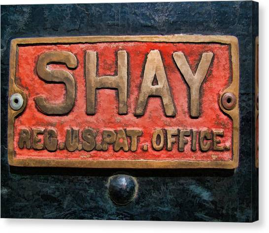 Shay Builders Plate Canvas Print