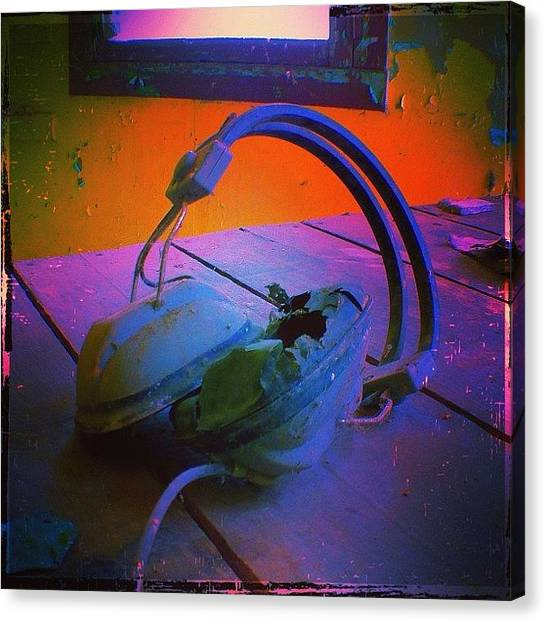"""Headphones Canvas Print - """"she Breathes Music. Lives It And by Sonia Pitts"""