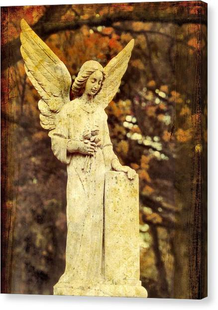 Angel Falls Canvas Print - She Glows In Autumn by Gothicrow Images