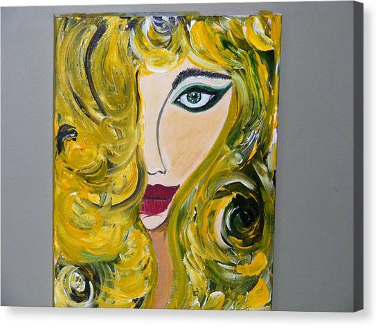 She Insists Canvas Print by Kim St Clair