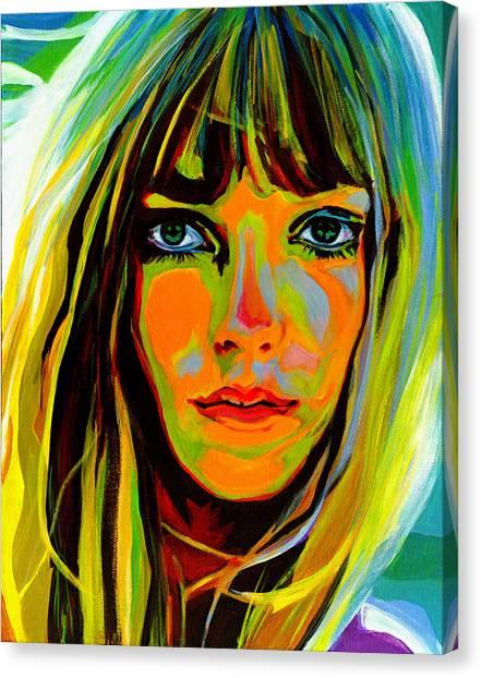 She Is A Rainbow Canvas Print