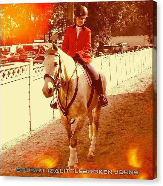 Video Games Canvas Print - She.  She Leads Them Out To The The by Stuart Johns