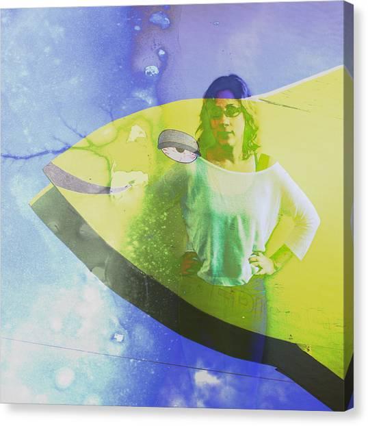 Sheebang Canvas Print