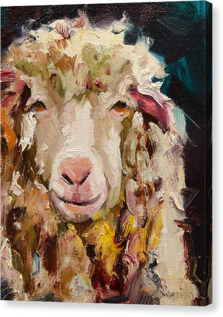 Sheep Alert Canvas Print