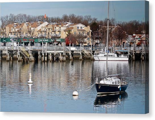 Sheepshead Bay Harbor #3 Canvas Print