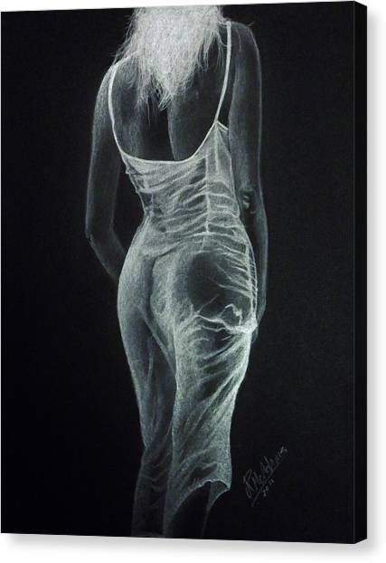 Sheer Elegance Canvas Print
