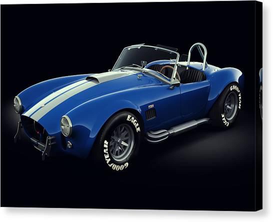 Shelby Cobra 427 - Bolt Canvas Print