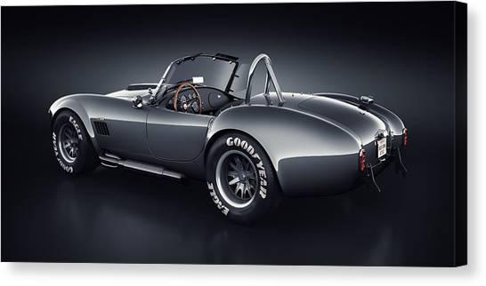 Cobra Canvas Print - Shelby Cobra 427 - Venom by Marc Orphanos