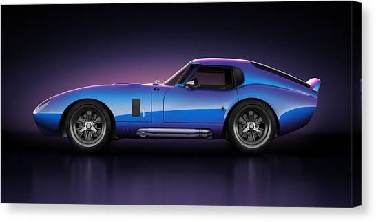 Shelby Daytona - Velocity Canvas Print