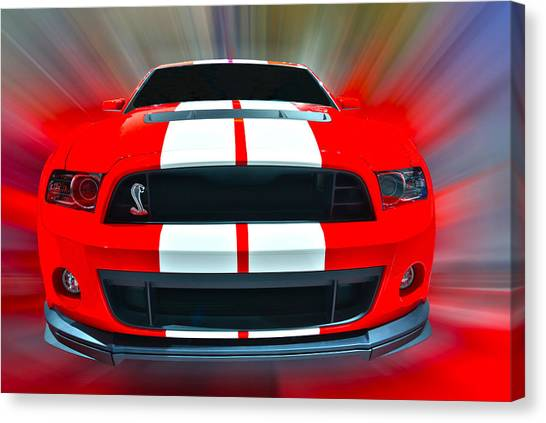Shelby Gt 500  2013 Canvas Print