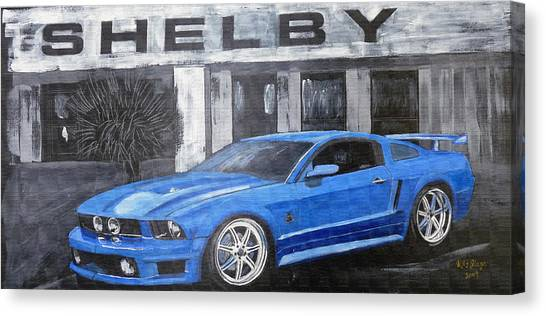Shelby Mustang Canvas Print