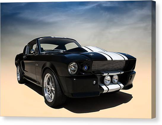 Cobras Canvas Print - Shelby Super Snake by Douglas Pittman