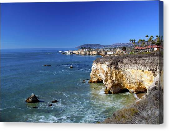 Mountain View Canvas Print - Shell Beach California by Barbara Snyder