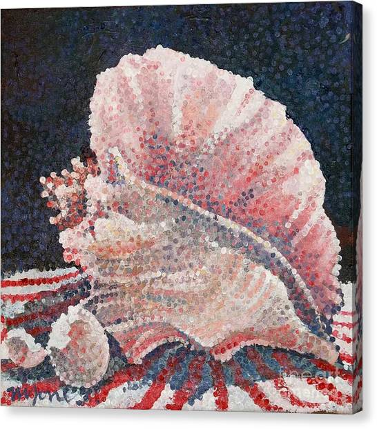 Shell Collection Canvas Print by Micheal Jones