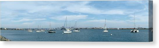 Shelter Island Panorama Canvas Print