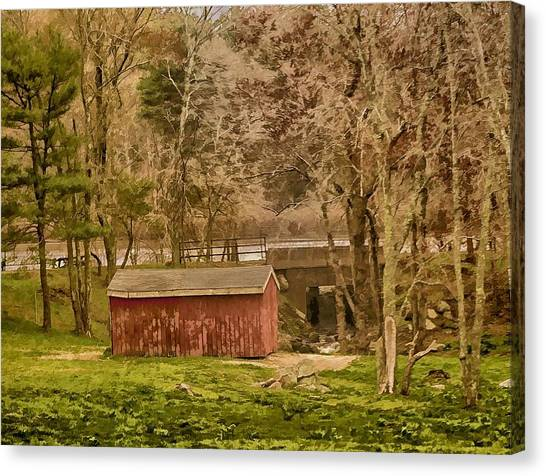 Shelter Photo Art Canvas Print by Constantine Gregory