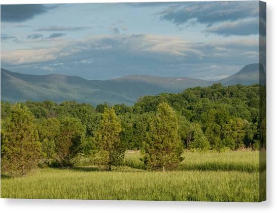 Shenandoah Valley May View Canvas Print