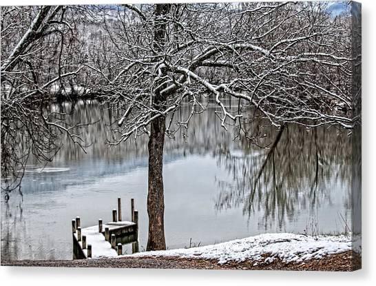 Shenandoah Winter Serenity Canvas Print