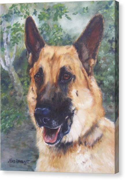 Shep Canvas Print