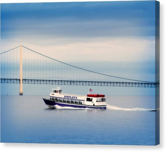 Shepler's Ferry Line Canvas Print