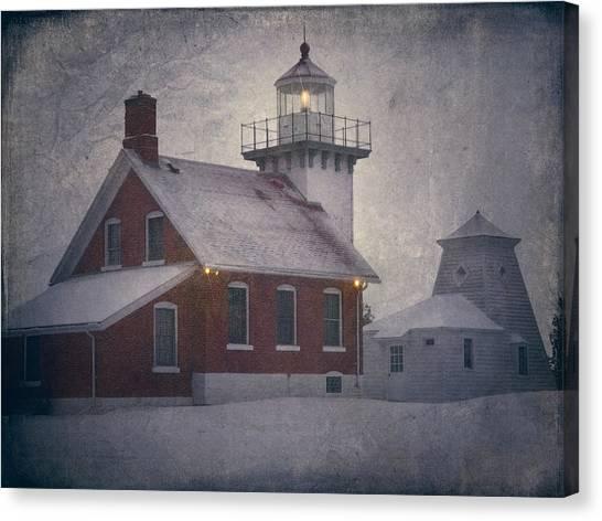 Sherwood Point Light Canvas Print