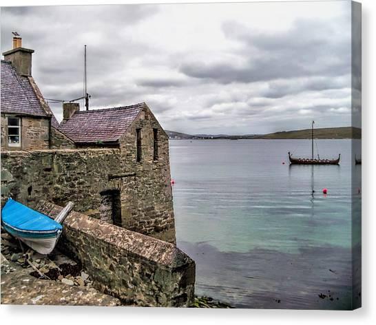 Shetland Lodberry Canvas Print