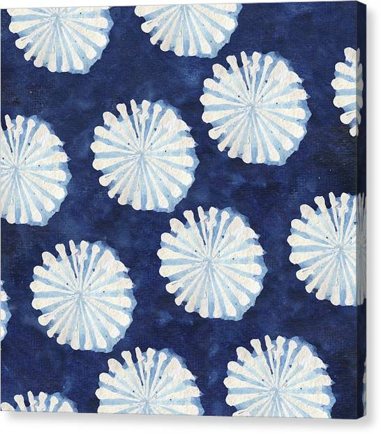 Lake Canvas Print - Shibori IIi by Elizabeth Medley