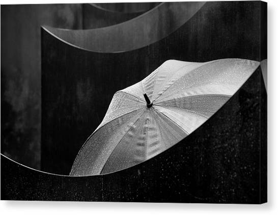 Wet Canvas Print - Shielded by Marc Apers