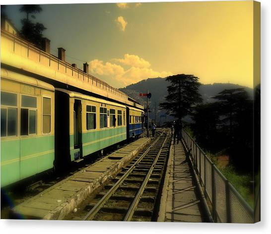 Shimla Railway Station Canvas Print