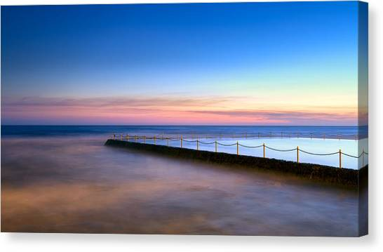 Shimmer In The Dawn Canvas Print