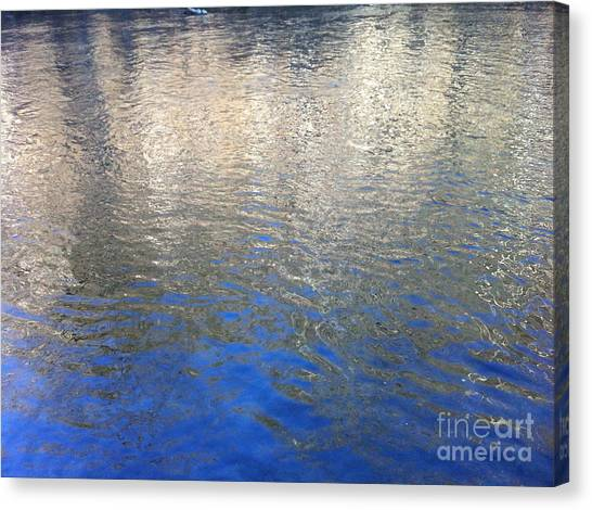 Shimmering Gold Canvas Print