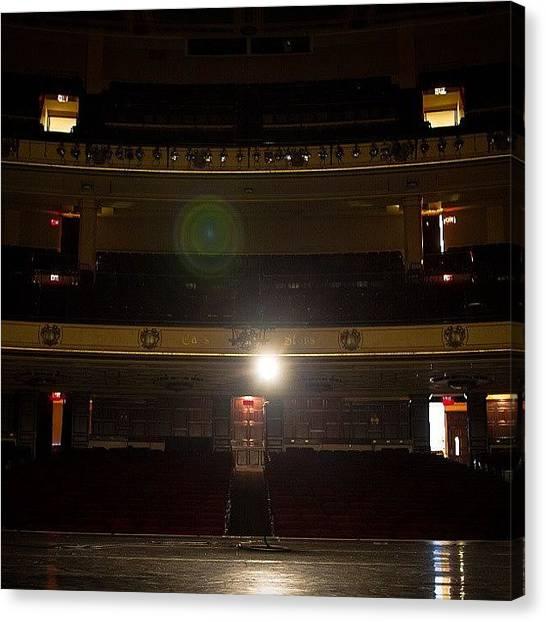 Jazz Canvas Print - #shine #bright On #stage.  #music by Chad Schwartzenberger