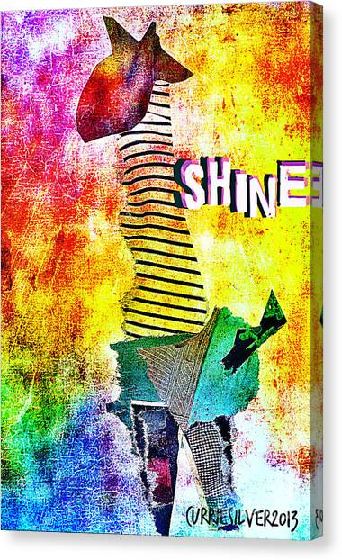 Shine Canvas Print by Currie Silver