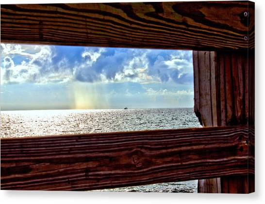 Shine It Down Canvas Print