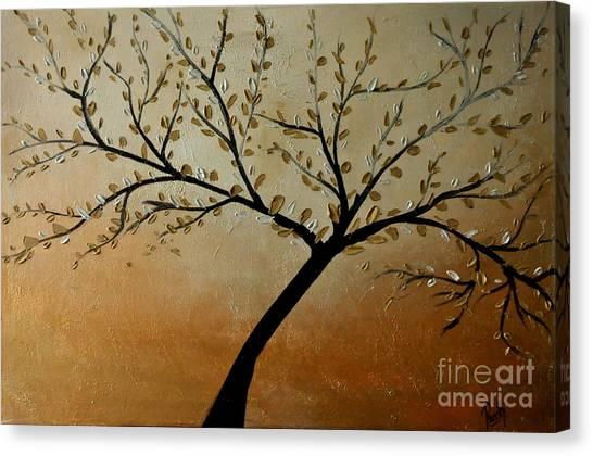 Shining Breeze Canvas Print