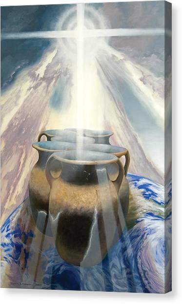 Shining Pots Canvas Print